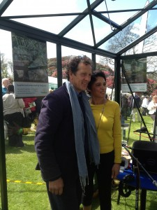 Monty Don and Carolyn