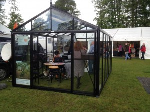 Our Display Greenhouse for Garden Show Ireland and Bloom